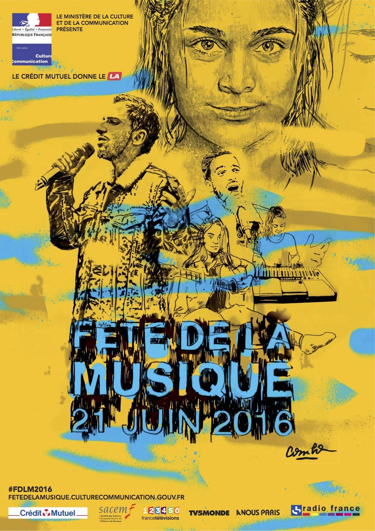 Fête de la musique 2016 Dijon