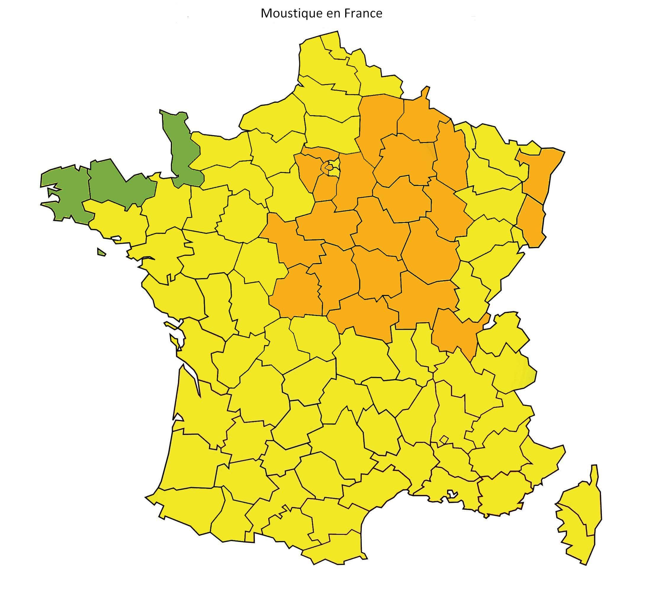 Carte Vigilance Orange Bourgogne.La Bourgogne Placee En Vigilance Orange Aux Moustiques