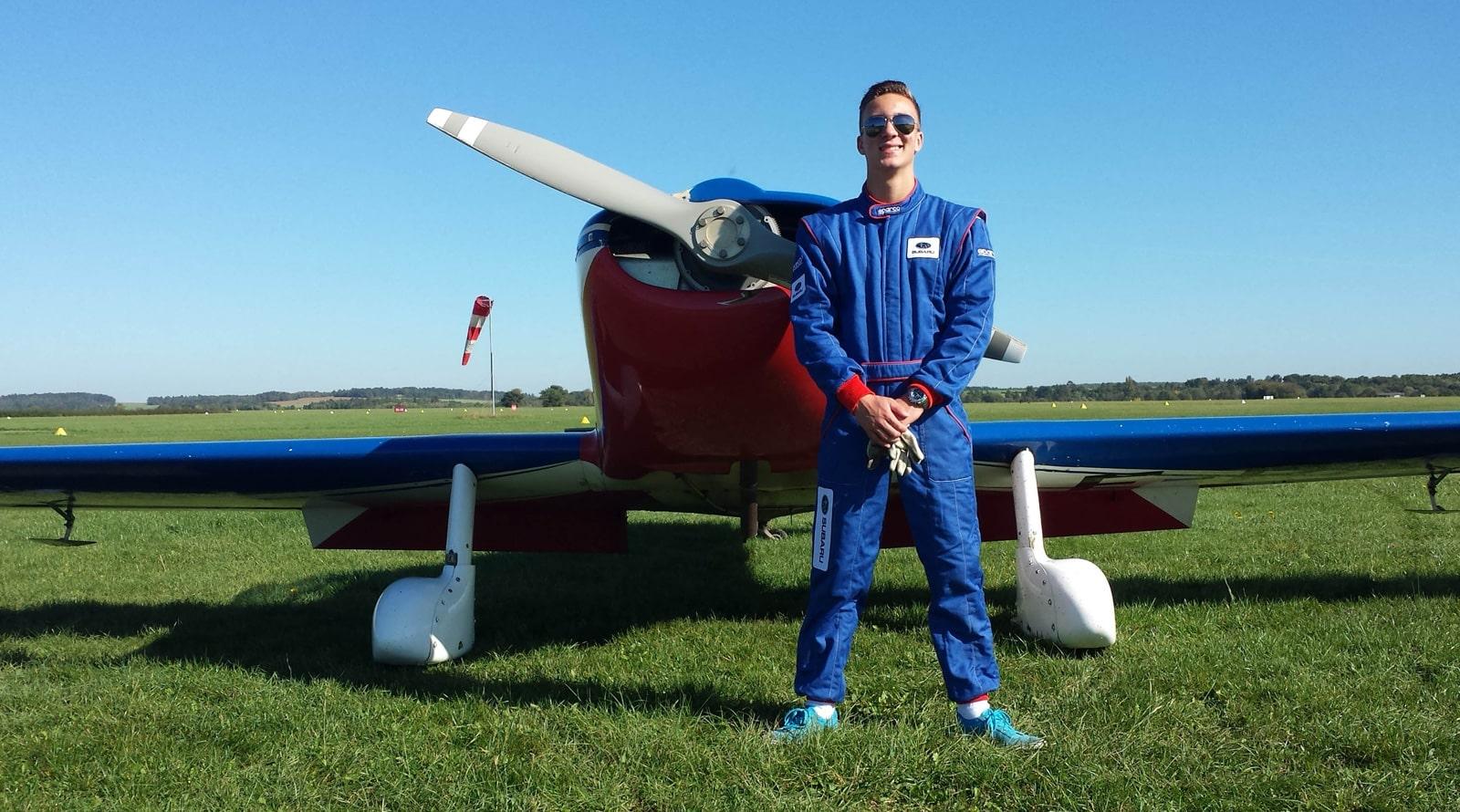 Jonathan Vincent pilote