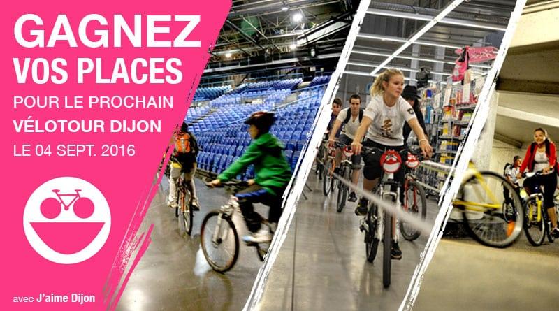 Vélotour Dijon 2016 : gagnez vos inscriptions