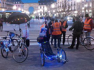 Cyclistes la nuit : voir et être vu