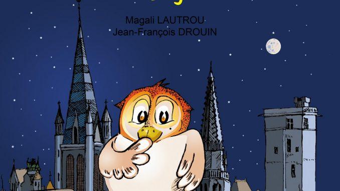 La Chouette de Dijon - Couverture esperanto
