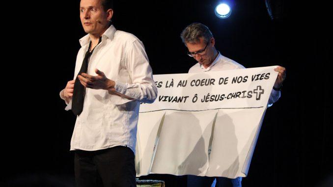 """Guillaume Pierre """"Même pas peur"""" © Laëtitia Perron"""