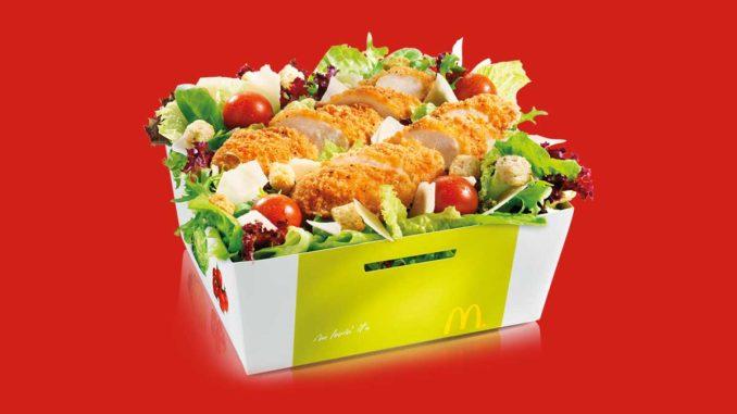 Salade McDonald's