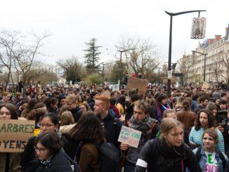 Grève scolaire pour le climat à Dijon