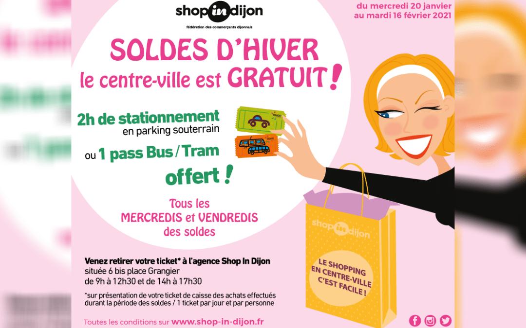 Parking, bus et tram gratuits chaque mercredi et vendredi jusqu'au 16 février !