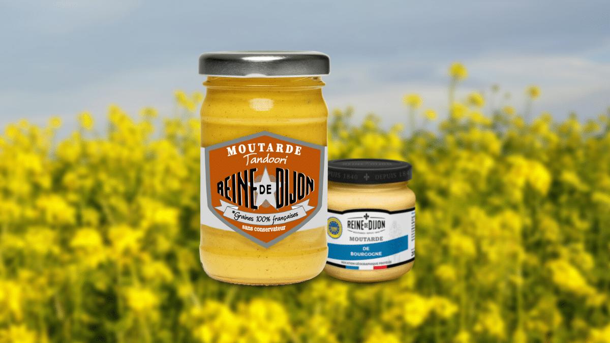 La moutarde Tandoori, nouvelle création Reine de Dijon