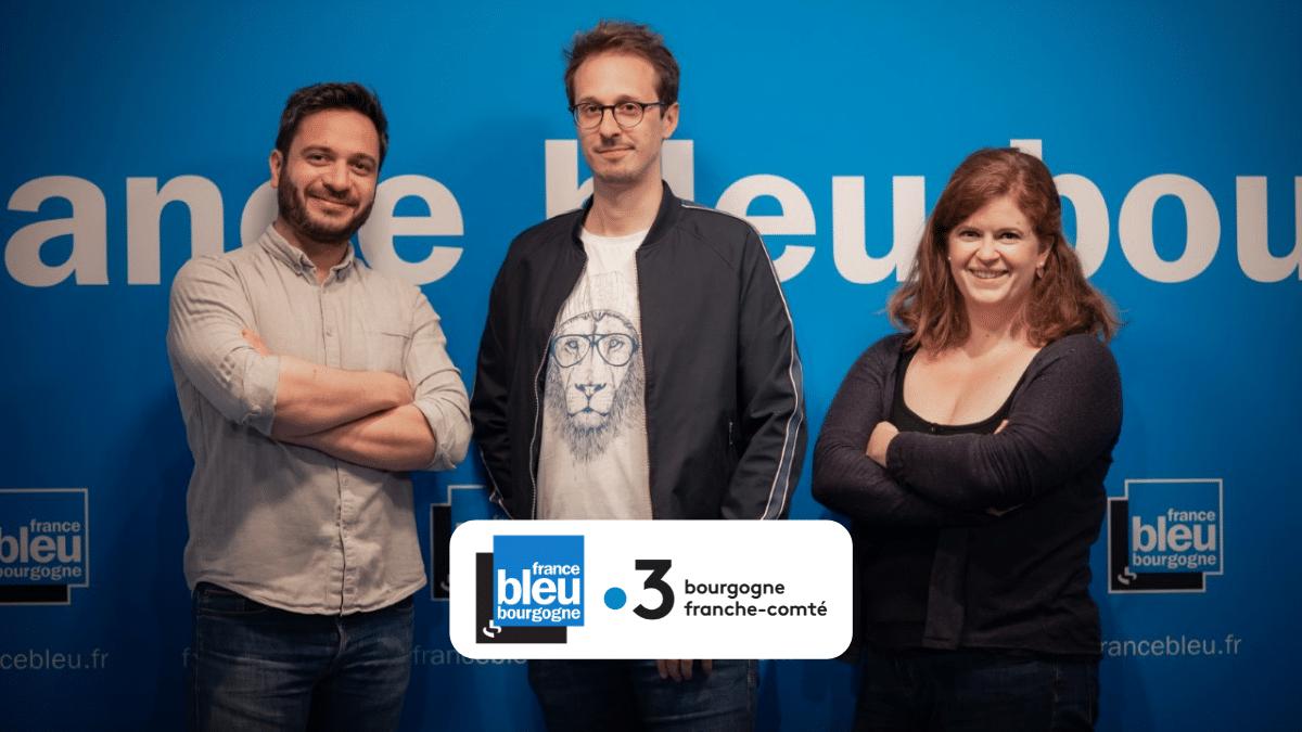 France Bleu Bourgogne sur France 3 Bourgogne à partir du lundi 7 juin à 7h