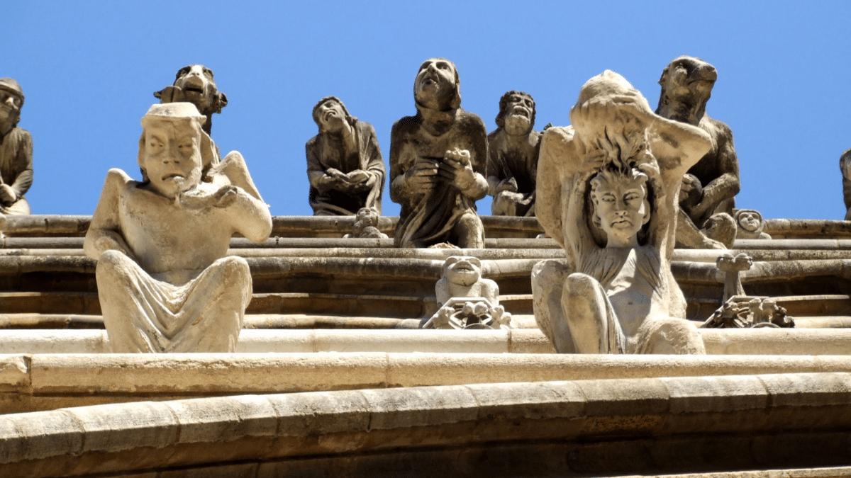 Les gargouilles de Notre-Dame de Dijon