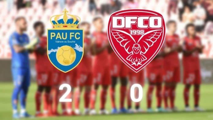Ligue 2 J6 - Pau FC-DFCO-Toulouse : défaite du DFCO (2-0)