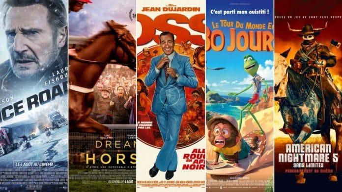 La programmation cinéma du 4 au 11 août 2021