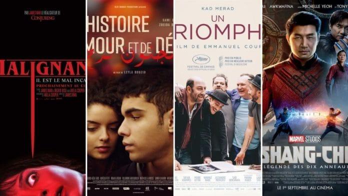 La programmation cinéma du 1er au 7 septembre 2021