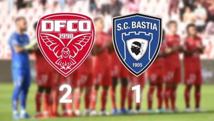 Ligue 2 J7 - DFCO-Bastia : victoire du DFCO ! (2-1)