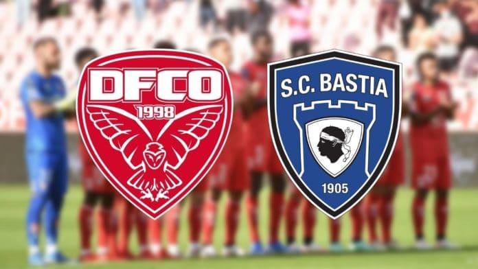 DFCO - SC Bastia : la liste des joueurs appelés