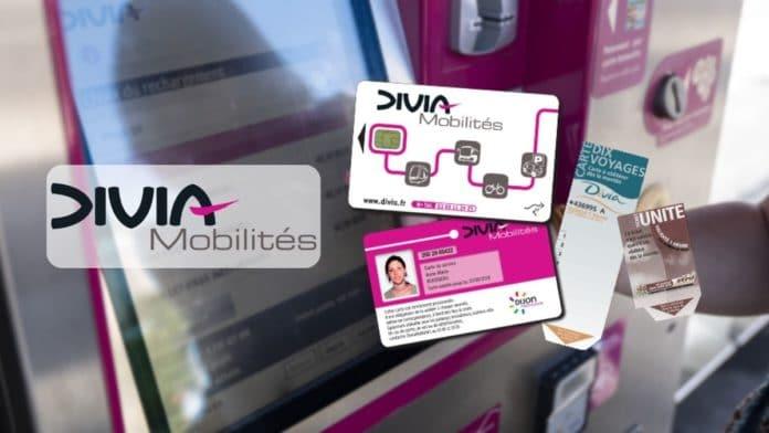 Les nouveaux titres de transport de Divia