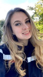 Leslie Gateau, prétendante au titre de Miss Bourgogne 2021