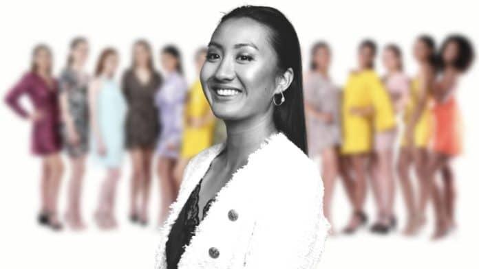 Thélème Magnin, prétendante au titre de Miss Bourgogne 2021