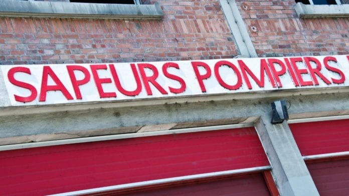 Hommage des pompiers de Dijon aux pompiers new-yorkais tombés le 11 septembre 2001