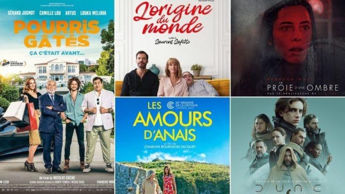 La programmation cinéma du 15 au 21 septembre 2021