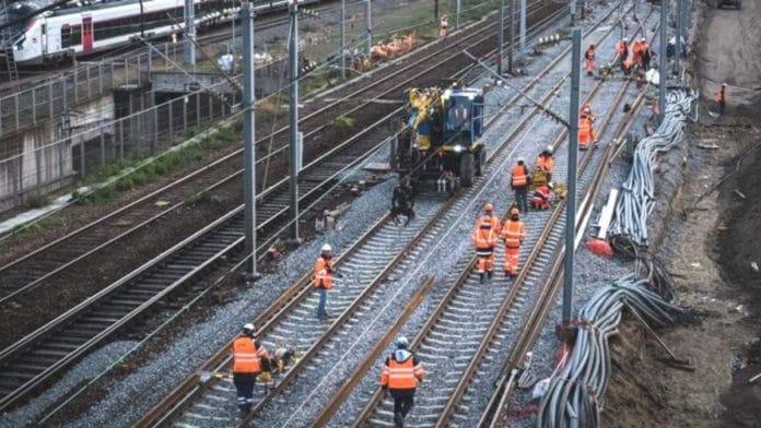 SNCF - Perturbations sur la ligne Dijon-Paris pendant 1 mois