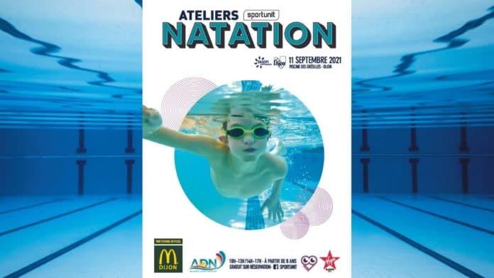 Faites découvrir la natation à vos enfants !