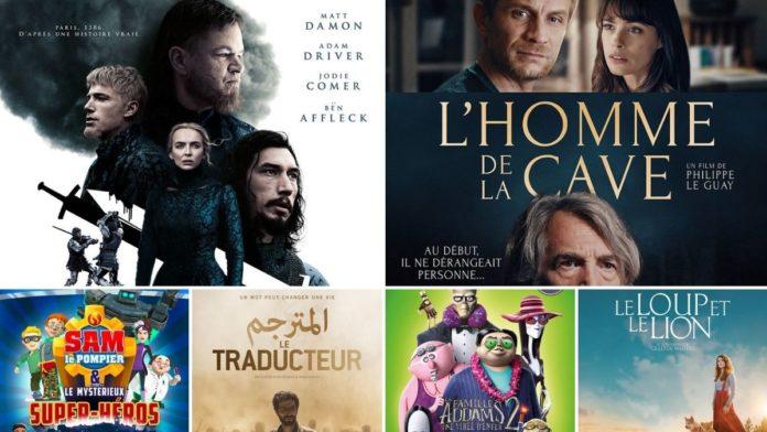 La programmation cinéma du 13 au 19 octobre 2021
