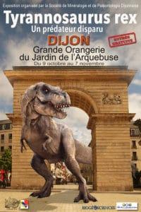 Un T-Rex a débarqué à Dijon !